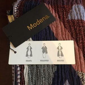 Blanket Scarf (Shaw/wrap/belted) NWT